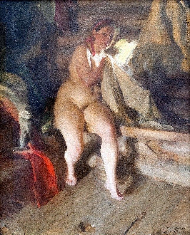 Anders Zorn - In the Loft