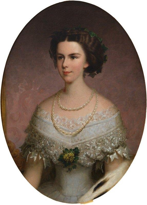 Franz Russ The Elder - Kaiserin Elisabeth