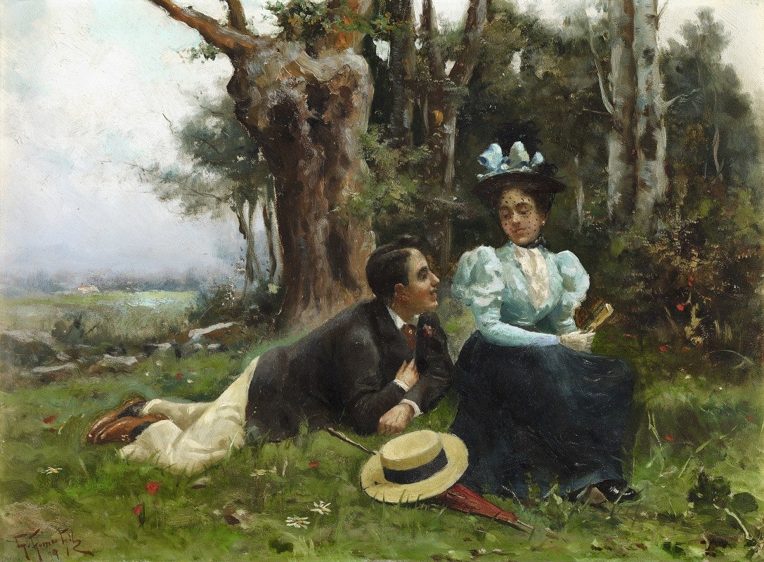 Guillermo Gómez Gil - Courting in the Country