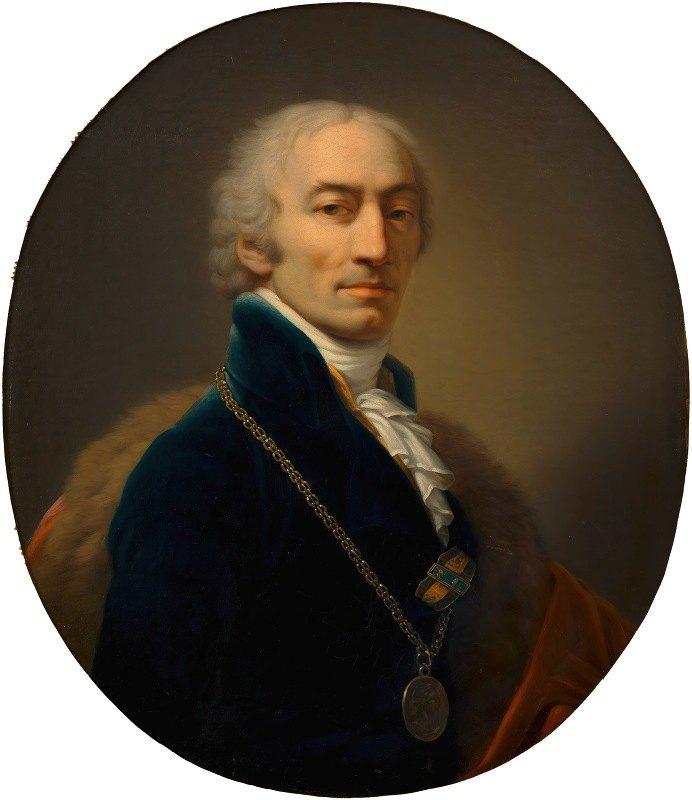 Johann Baptist Lampi the Elder - Michael Mayer (Hofquartierbuchverwalter)