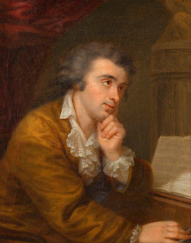 Johann Baptist Lampi the Elder - Josef Wölfl (Komponist und Pianist)
