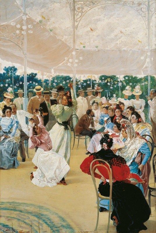Julio Romero De Torres - The Cordoba Fair