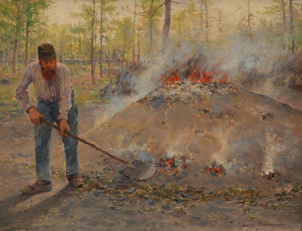 Theodor Von Hörmann - Im Wald von Fontainebleau (Köhler)