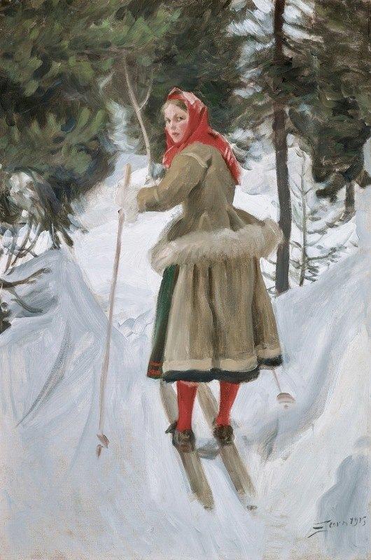 Anders Zorn - Girl from Mora