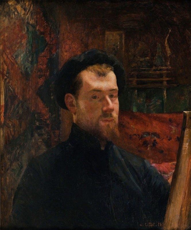 Charles Cottet - Autoportrait