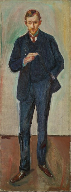 Edvard Munch - The Frenchman, Marcel Archinard