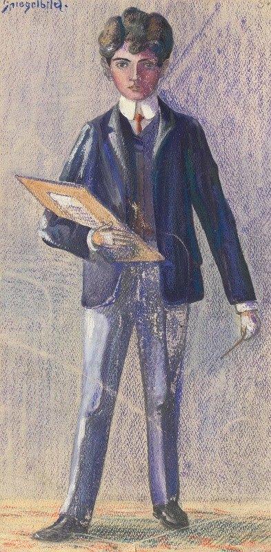 Egon Schiele - Spiegelbild