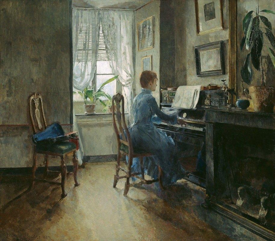 Harriet Backer - Chez moi