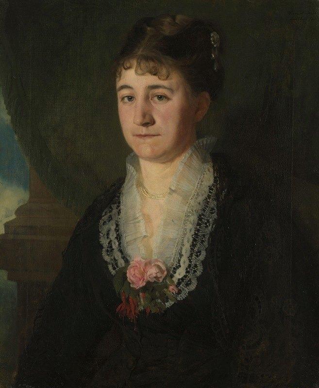 Harriet Backer - Karen Nielsen, f. Wedel Jarlsberg