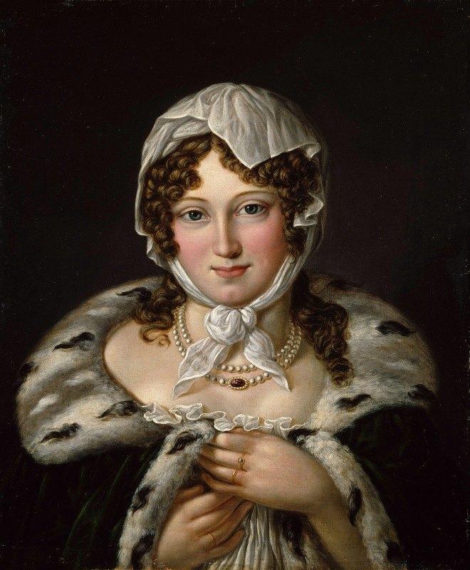 Jacob Munch - Dameportrett, Signora Contessa di Mollinasko