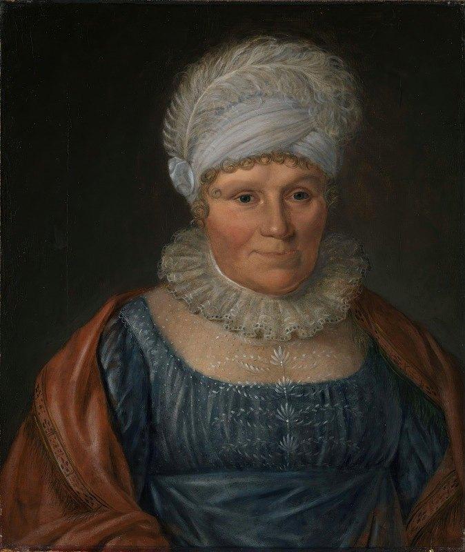 Jacob Munch - Fru biskop Bech