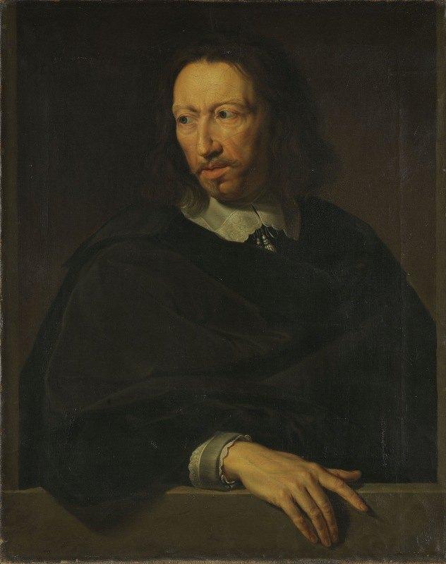 Jacob Munch - Portrait of a Man. After Philippe de Champaigne, Louvre