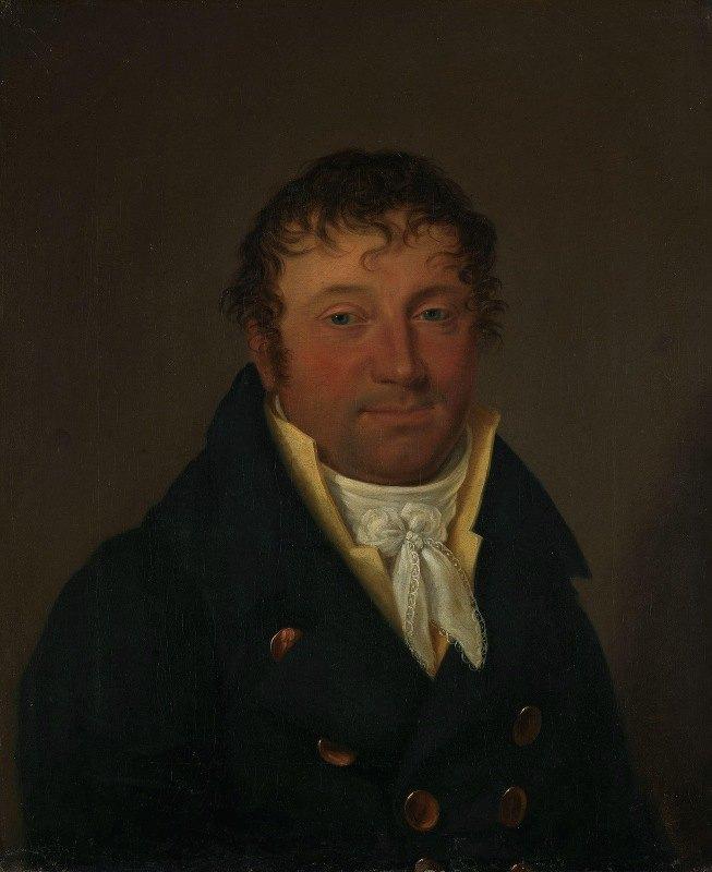 Jacob Munch - Portrait of Ole Leuthen Ring