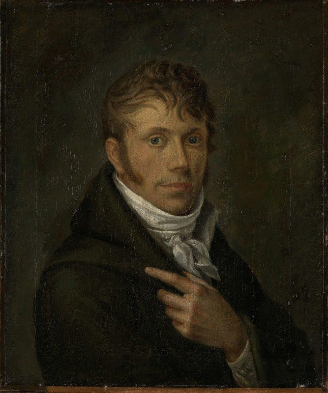 Jacob Munch - Self-Portrait