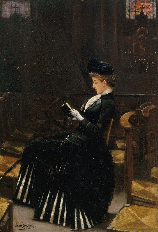 Jean Béraud - Femme en prière
