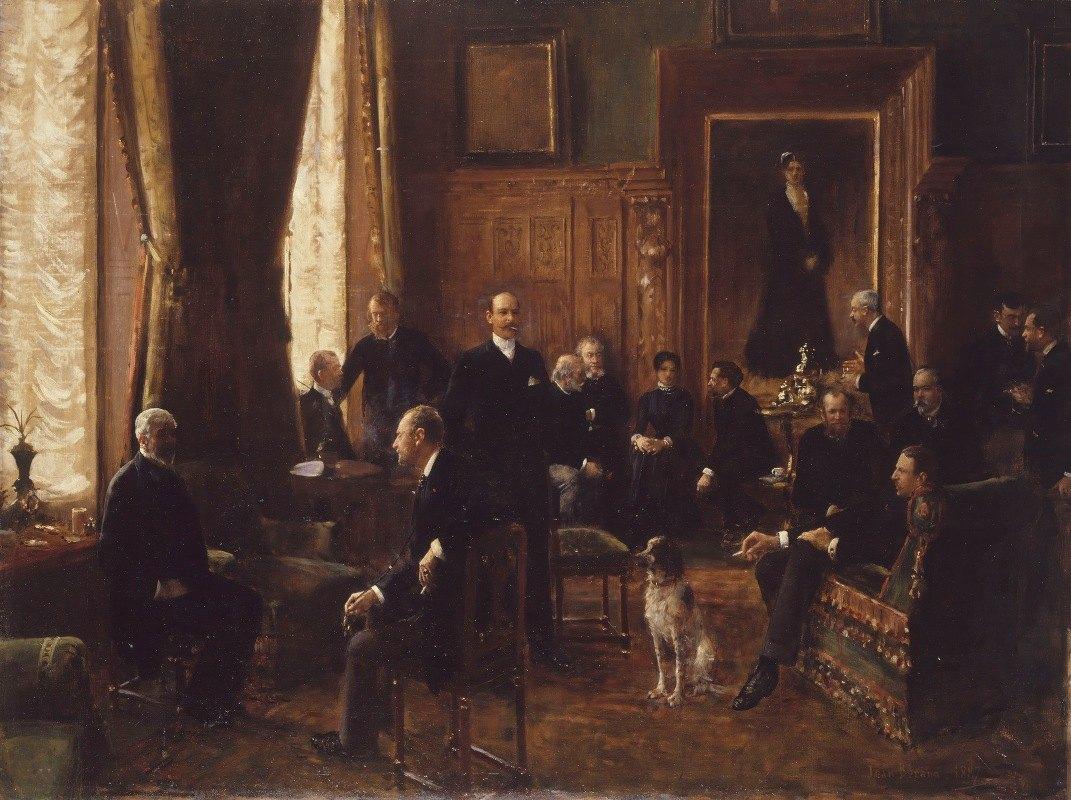 Jean Béraud - Le salon de la comtesse Potocka