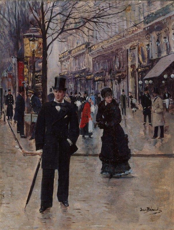 Jean Béraud - Sur le boulevard