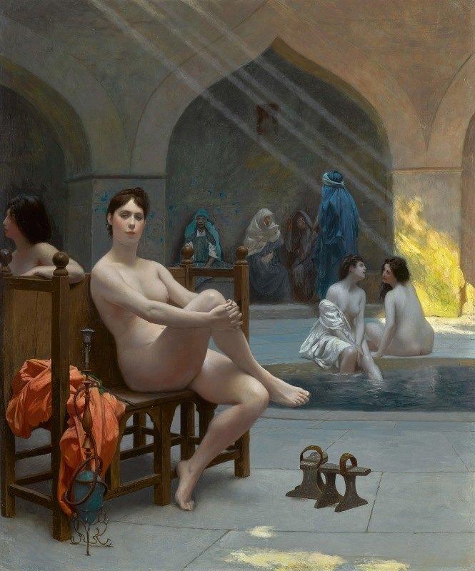 Jean-Léon Gérôme - Le Bain des femmes
