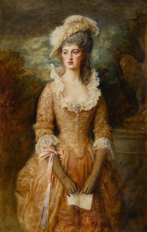 Sir John Everett Millais - Clarissa
