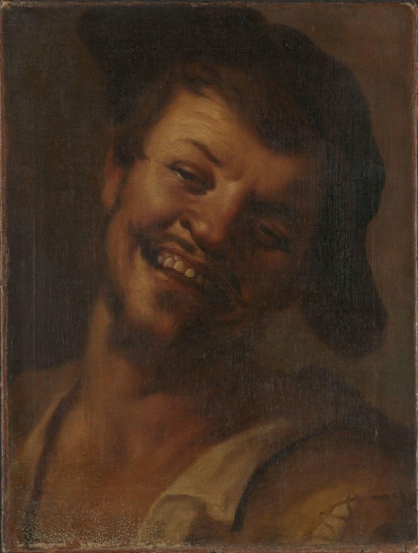 Unknown - Head of a Laughing Man