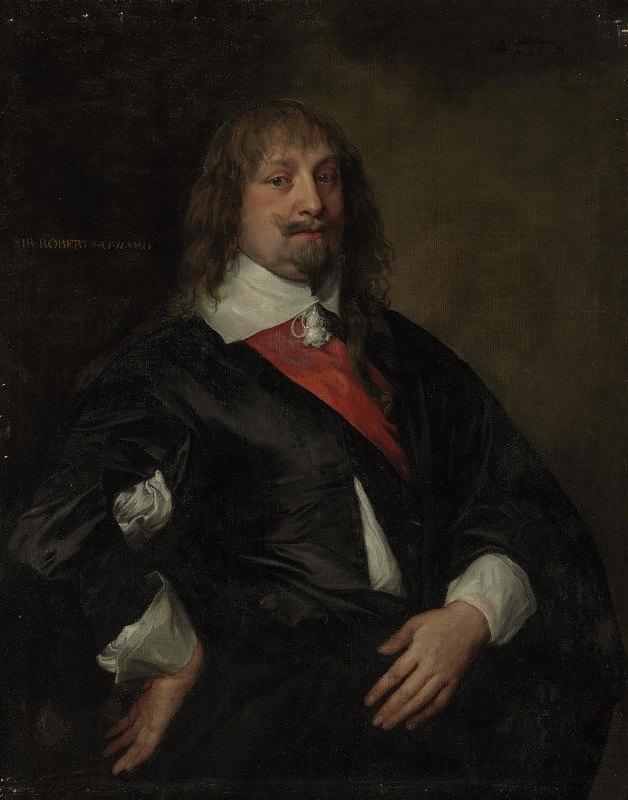 Anthony van Dyck - A portrait of Sir Robert Howard