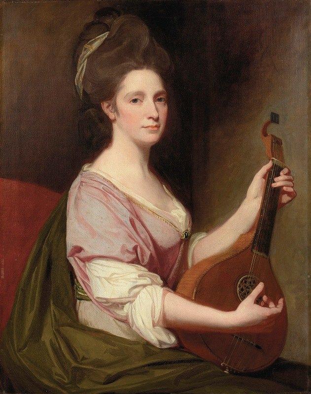 George Romney - Portrait of Mrs. Henrietta Smith (1735-1795)
