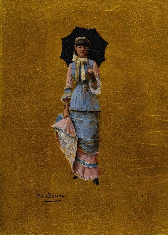 Jean Béraud - Jeune femme a l'ombrelle