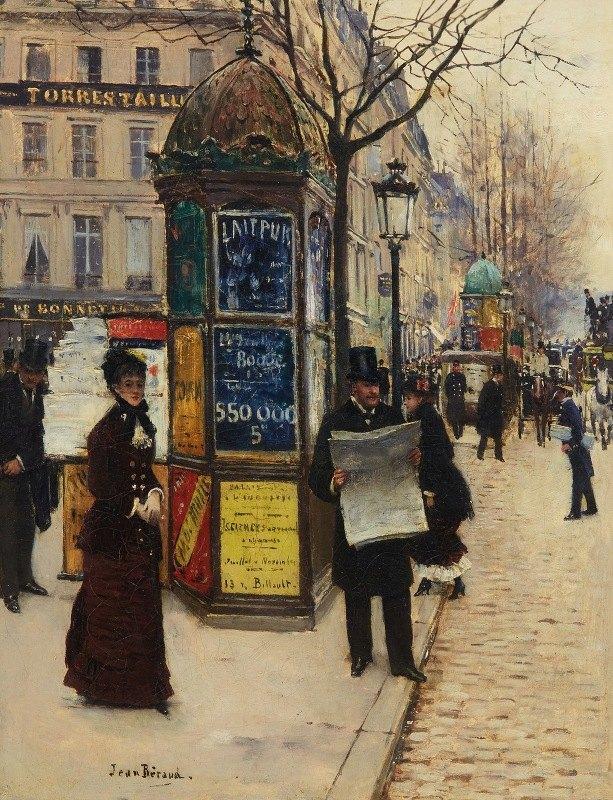 Jean Béraud - Les grands boulevards