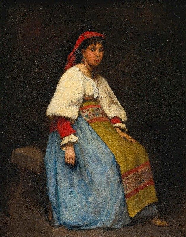 Jean Béraud - L'Italienne