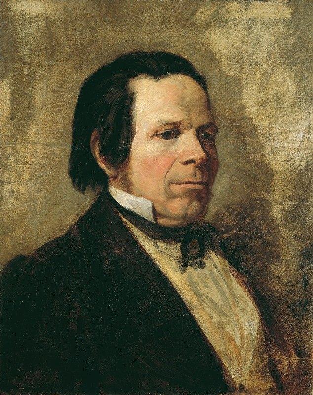 Josef Danhauser - Porträt eines Mannes