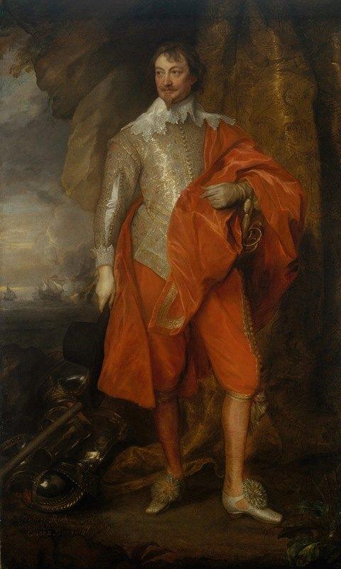 Anthony van Dyck - Robert Rich (1587–1658), Second Earl of Warwick