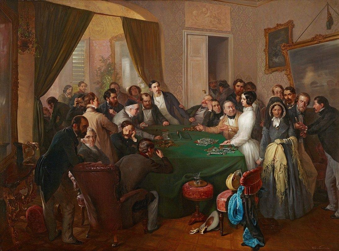 Eduard Swoboda - Va banque (Glücksspiel)