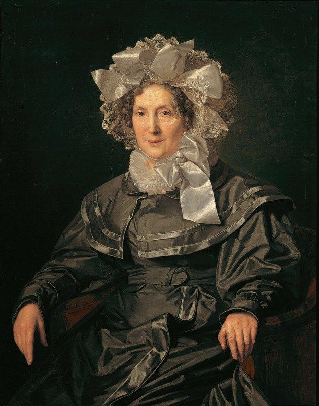 Ferdinand Georg Waldmüller - Elisabeth Waldmüller, die Mutter des Künstlers