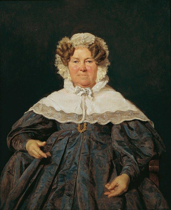 Ferdinand Georg Waldmüller - Josephine Schaumburg, geb. Stahel