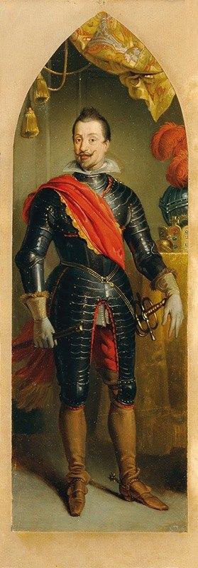 Johann Peter Krafft - Kaiser Ferdinand II. stehend