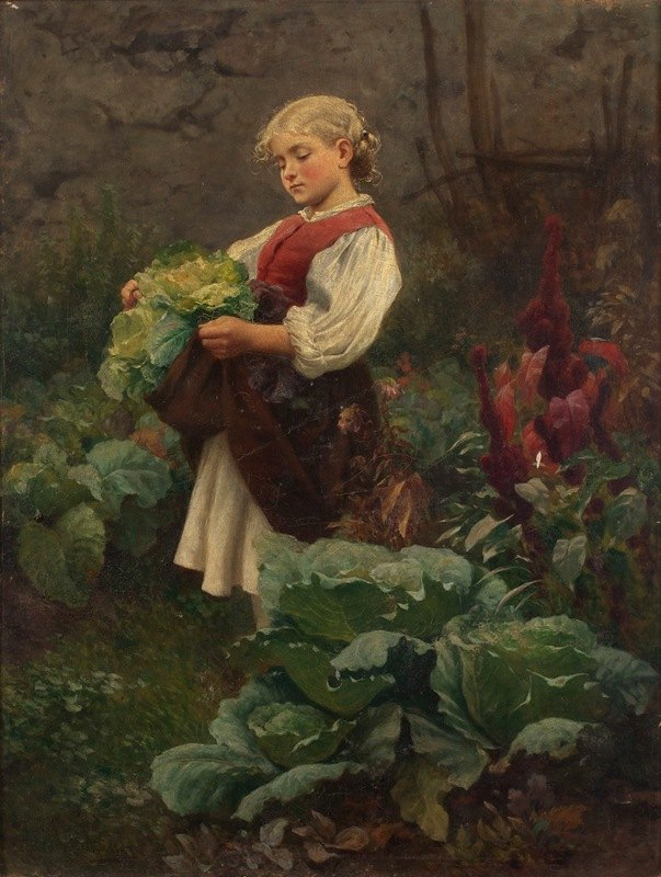 Leopold Carl Müller - Das Hausmütterchen