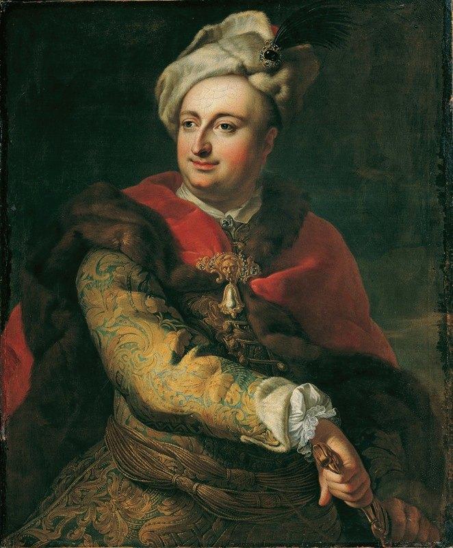 Martin van Meytens - Bildnis eines Mannes in ungarischer Tracht (Imre Graf Tökölyi)
