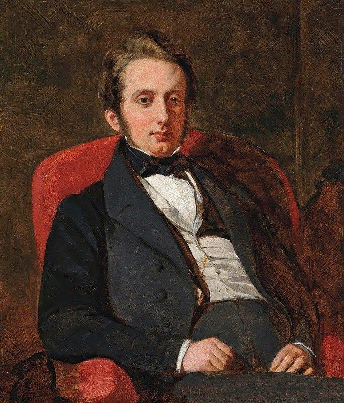 Augustus Leopold Egg - Portrait of Henry Charles Hamilton (1811-1872)
