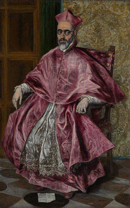 El Greco (Domenikos Theotokopoulos) - Cardinal Fernando Niño de Guevara (1541–1609)