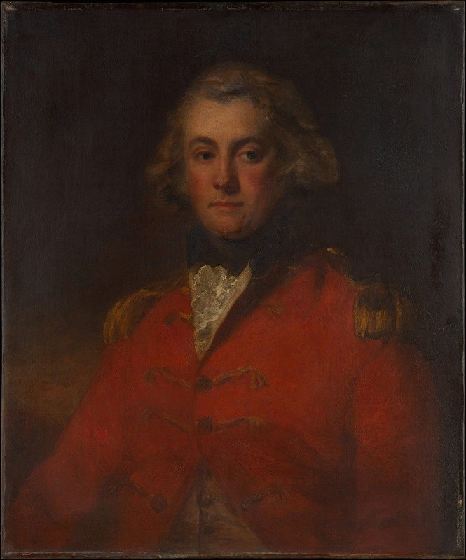 John Hoppner - Major Thomas Pechell (1753–1826)