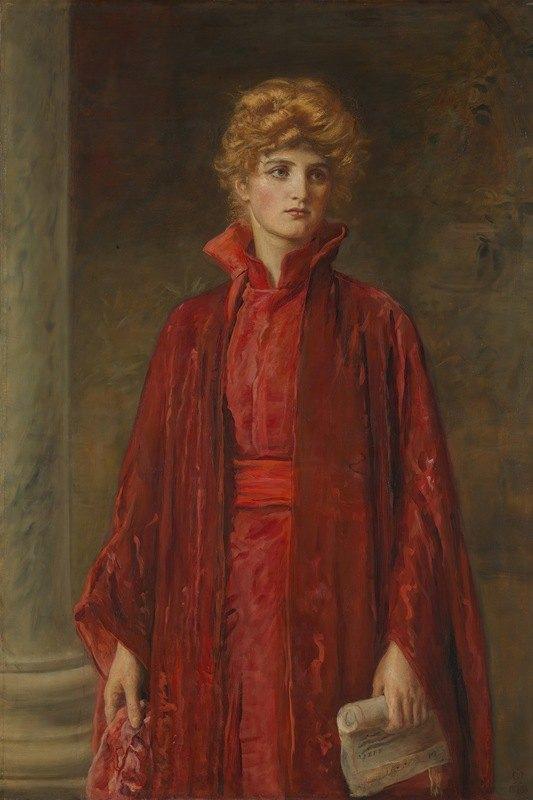Sir John Everett Millais - Portia