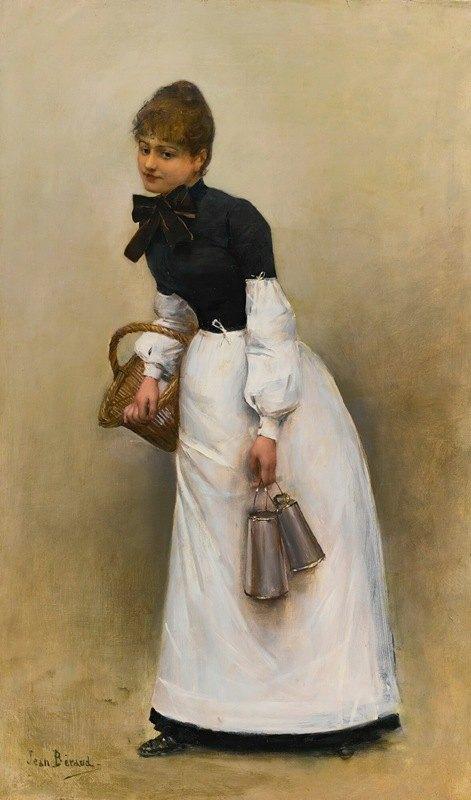 Jean Béraud - La Servante (La Petite Laitière)