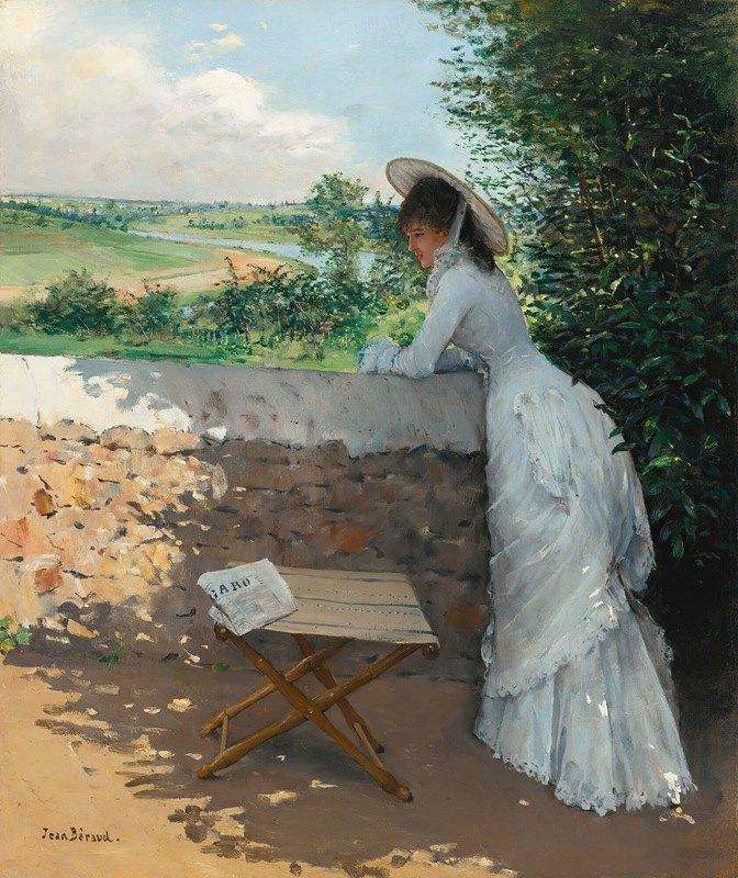 Jean Béraud - Un Figaro De Rêve