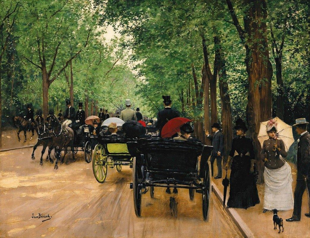 Jean Béraud - Bois De Boulogne