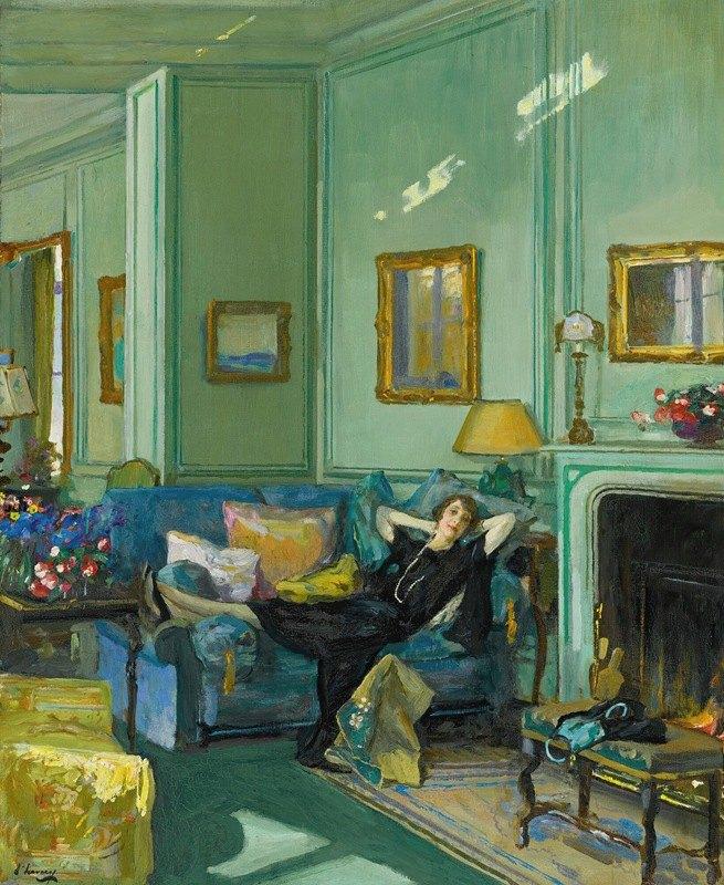 Sir John Lavery - Mrs. Osler