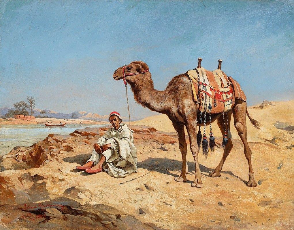 Tadeusz Ajdukiewicz - Arab in the desert