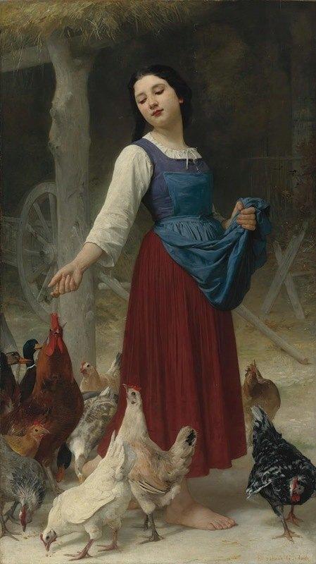 Elizabeth Jane Gardner Bouguereau - The Farmer's Daughter
