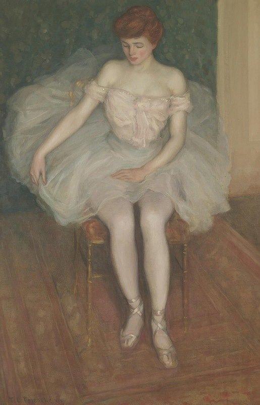 Frederick Carl Frieseke - Ballerina