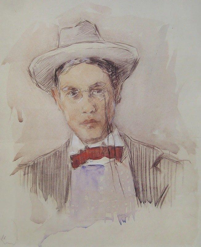 Frederick Carl Frieseke - Self-portrait