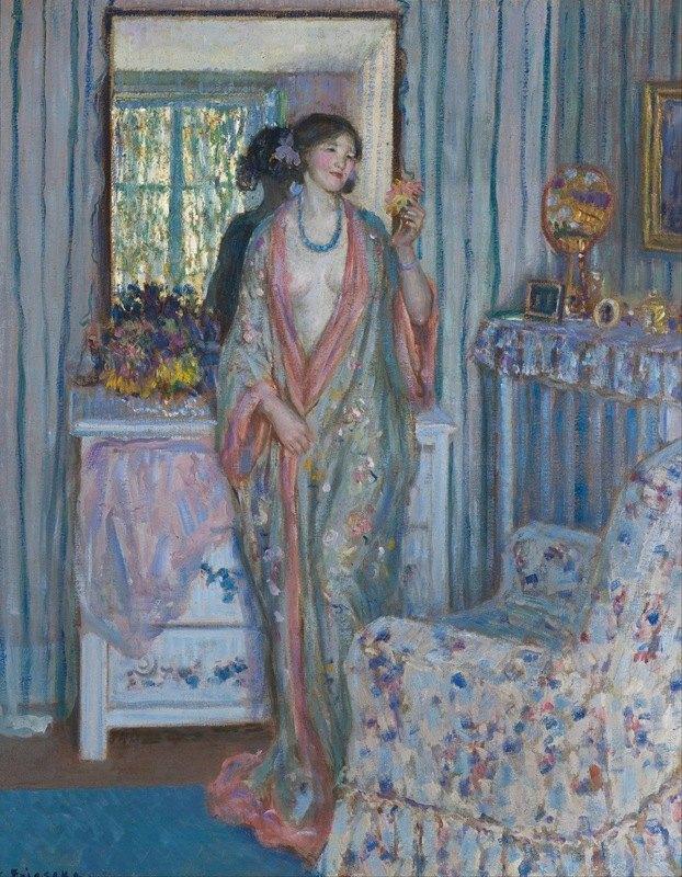 Frederick Carl Frieseke - The Robe